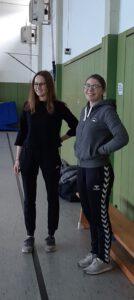 Hannah Drees und Leonie Oelgeschläger